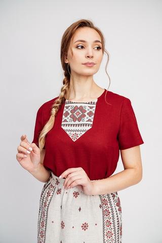 Блузка в русском стиле Червона рута