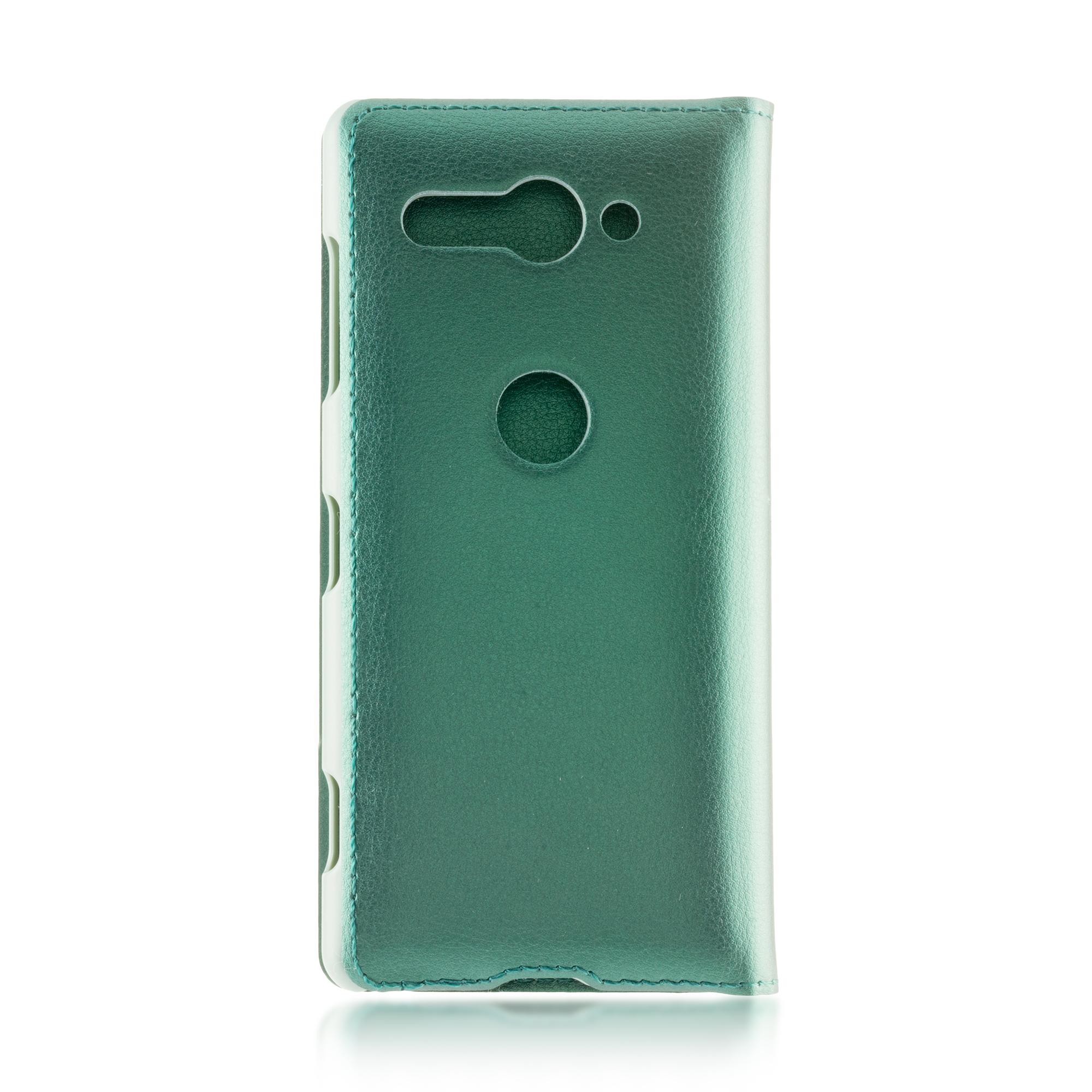 Чехол-книжка для Xperia XZ2 Compact зелёного цвета в Sony Centre Воронеж