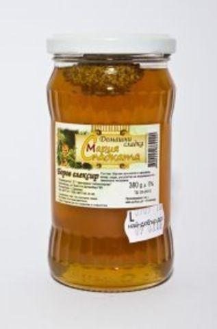 Эликсир (сироп) из сосновых шишек