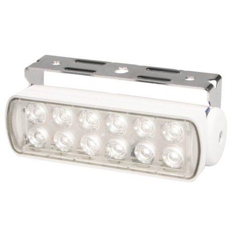 Прожектор палубный светодиодный Sea Hawk, точечный свет, белый корпус