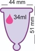 Менструальная чаша MeLuna (L) classic ball