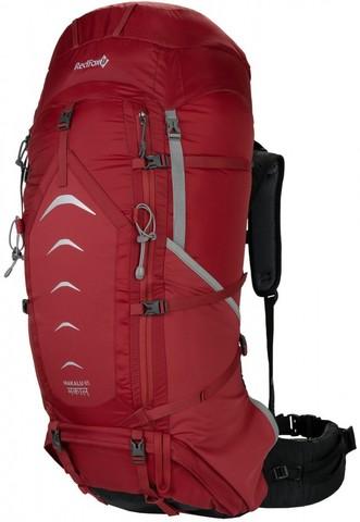Картинка рюкзак туристический Redfox makalu 65 v5 1200/т.красный - 1