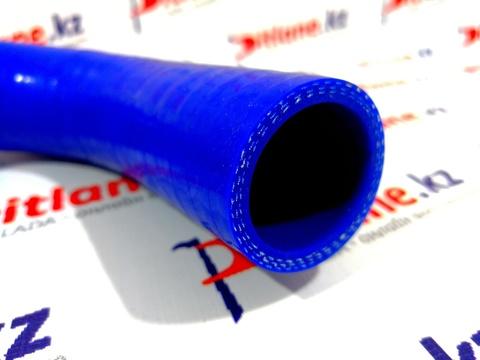 Патрубок вентиляции картера нижний (патрубок сапуна) CS20 (синий силикон)