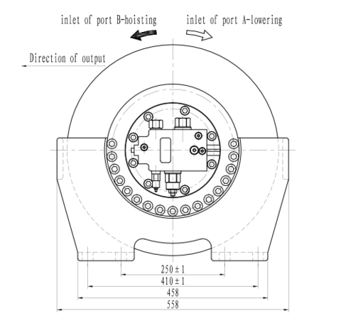 Стандартная лебедка IYJ33-30-90-16-ZPND