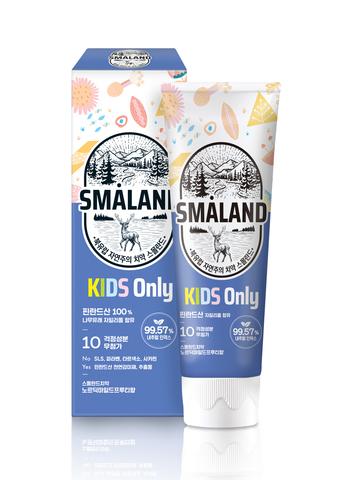 Детская зубная паста,80 гр, SMALAND MILD FRUITY