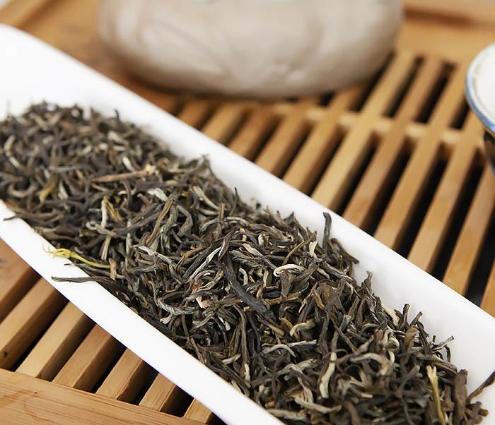 TEA-AR118 Китайский зеленый жасминовый чай (50 гр) фото 06