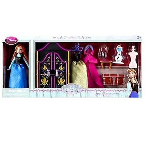 Дисней Холодное сердце набор с мини-куклой Анной