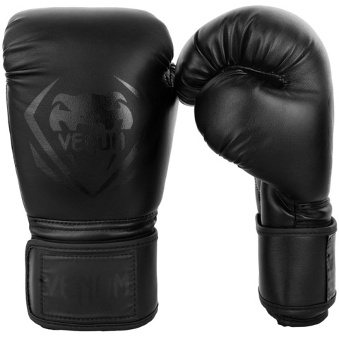 Перчатки для бокса Venum Contender Boxing Gloves - Black/Black