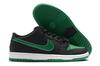 Nike SB Dunk Low 'Black/Green/White'