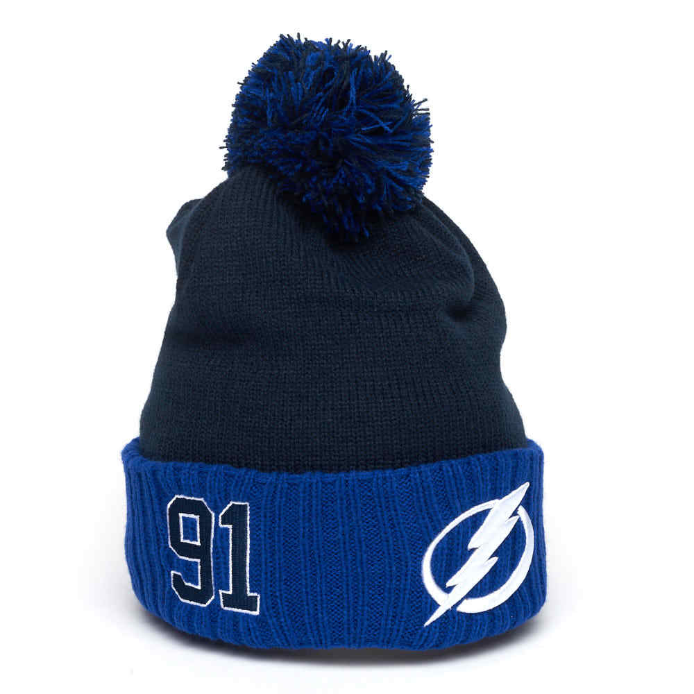 Шапка NHL Tampa Bay Lightning № 91