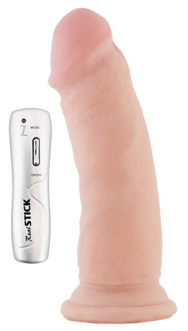Вибратор-реалистик на присоске - 16 см.
