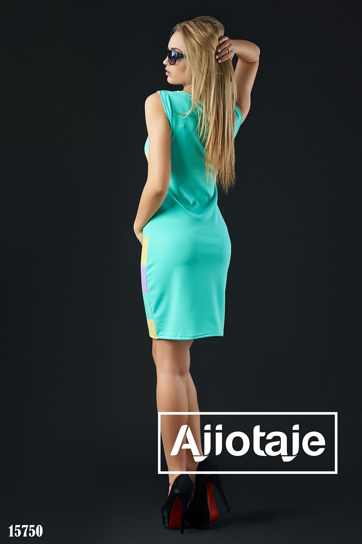 Платье миди облегающего силуэта без рукавов