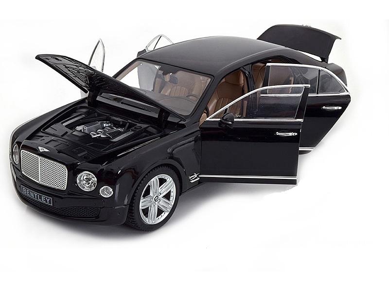 Коллекционная модель Bentley Mulsanne 2010 Black