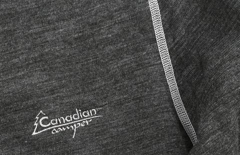 Термобелье Canadian Camper TRAPPER (фуфайка мужcкая), цвет серый меланж