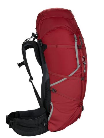 Картинка рюкзак туристический Redfox makalu 65 v5 1200/т.красный - 3