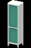 Шкаф лабораторный  ШКа-1 АйЛаб Organizer (вариант 4)