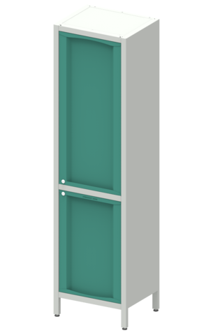 Шкаф лабораторный  ШКа-1 АйЛаб Organizer (вариант 4) - фото