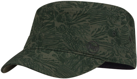 Кепка военная Buff Military Cap Checkboard Moss Green фото 1