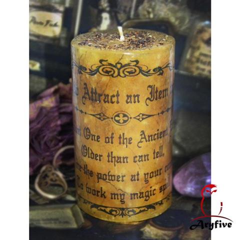 Свеча - ритуал «Магнит для вещей»