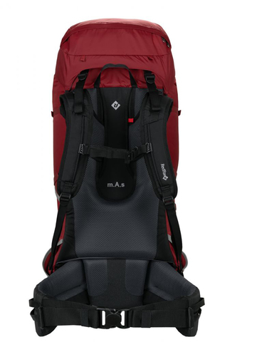 Картинка рюкзак туристический Redfox makalu 65 v5 1200/т.красный - 4