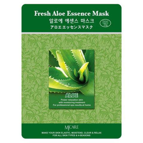 Тканевая маска с алоэ Mijin Fresh Aloe Essence Mask
