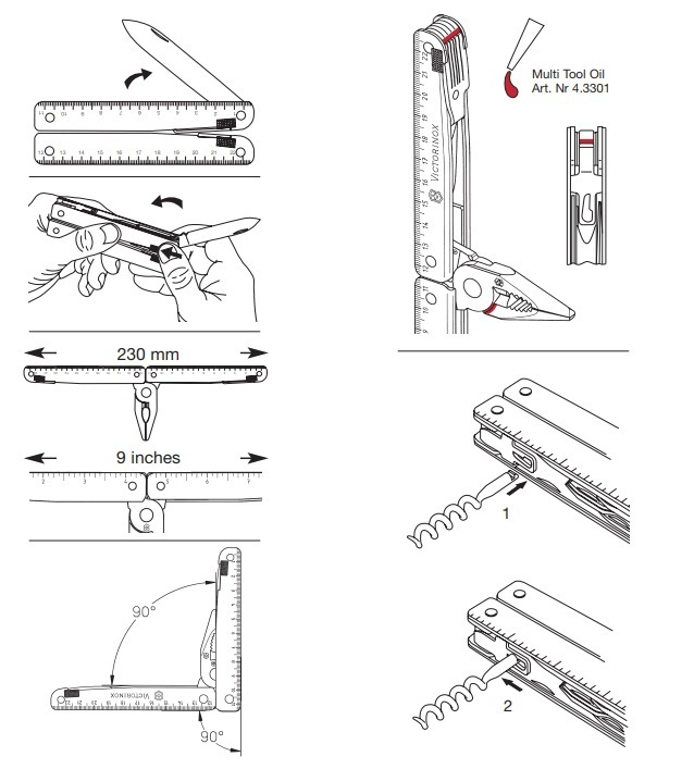Victorinox SwissTool X Plus (3.0338.L)   швейцарский мультитул с максимальной комплектацией