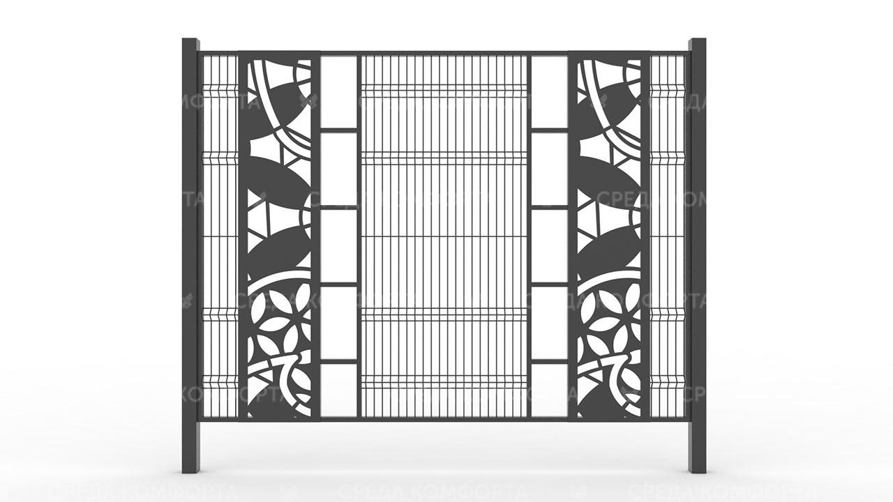 Забор 3Д ZBR0093