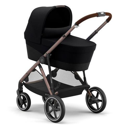 Детская коляска Cybex Gazelle S 3 в 1 TPE Deep Black