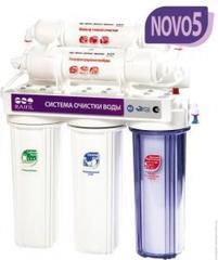 Водоочиститель Raifil NOVO 5 PU 905W5-WF14-PR-EZ (5-ти ступенчатый, с UF-мембраной, c IRC умягчающий)