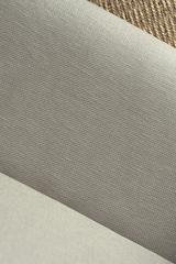 Интерьерная льняная ткань цвет КАКАО