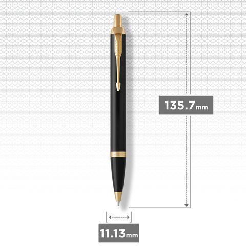 Шариковая ручка Parker IM Metal Black GT123