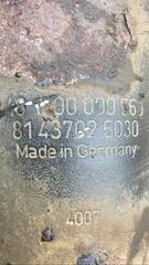 Амортизатор МАН ТГМ на заднюю подвеску    Оригинальные номера MAN - 81437026030; 85437016035