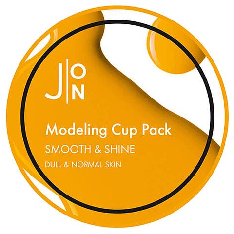 Альгинатная маска для лица ГЛАДКОСТЬ/СИЯНИЕ Smooth & Shine Modeling Pack, 18 гр, J:ON