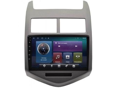 Магнитола для Chevrolet Aveo (12-15) Android 10 4/64GB IPS DSP 4G модель CB-2303TS10