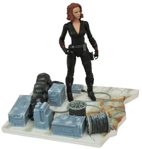 Black Widow. Age of Ultron. Marvel Select Figure || Коллекционная фигурка Черная Вдова