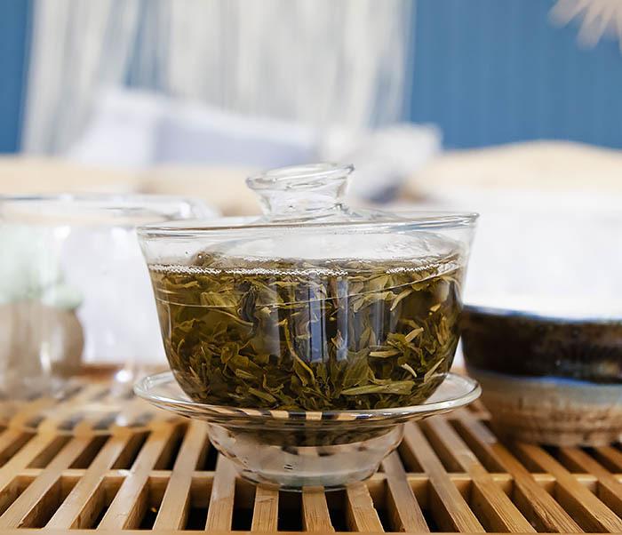 TEA-AR118 Китайский зеленый жасминовый чай (50 гр) фото 09