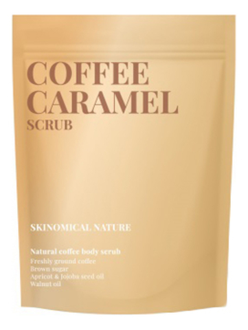 Натуральный кофейный скраб для тела  « Кофе и Карамель»