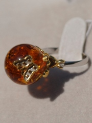 Ярра ( кольцо из серебра)