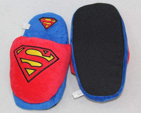 Супермен тапочки домашние