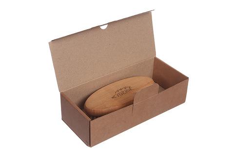 YOZHIK Щётка для сухого массажа (класс L компакт, натуральная щетина)_коробка