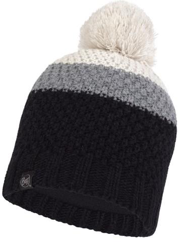 Шапка вязаная с флисом детская Buff Hat Knitted Polar Noel Black фото 1