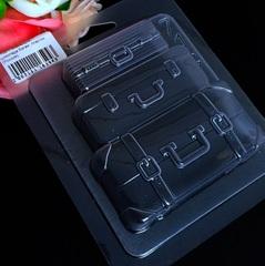 Пластиковая форма для шоколада жен. БАГАЖ (85х75мм)