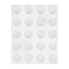 Протектор для мебельных дверей и ящиков, прозрачные, 9мм, 20 шт