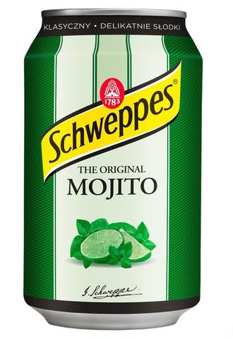Schweppes Mojito Швепс мохито 0,33 л