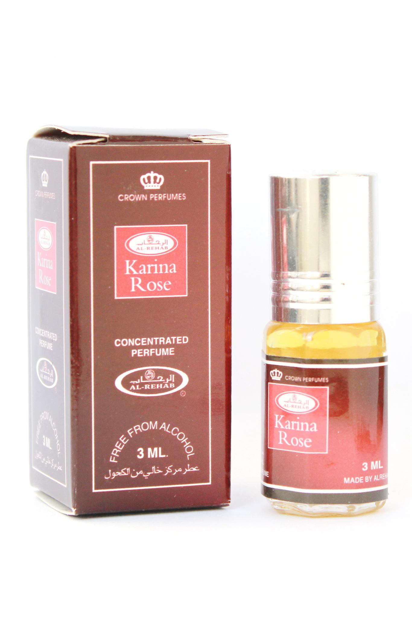 Karima Rose Карима Роуз 3 мл арабские масляные духи от Аль Рехаб Al Rehab