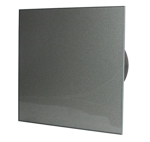 Вентилятор накладной энергосберегающий бесшумный MMotors JSC MMP-UE 100 Стекло/Темно Серый
