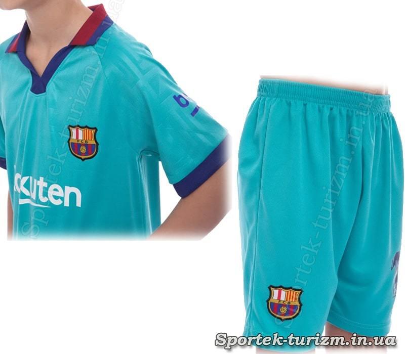Футболка і шорти футбольної форми BARCELONA MESSI 10 CO-0976