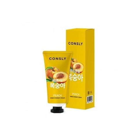 Consly Крем-сыворотка для рук с экстрактом персика - Peach hand essence cream, 100мл