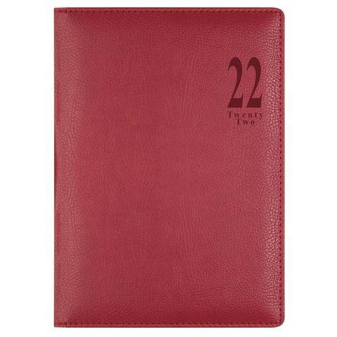 Ежедневник Letts Milano A5 (412 155040) белые стр красный