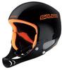 Картинка шлем горнолыжный Salice RACE + CHINGUARD Black  - 1